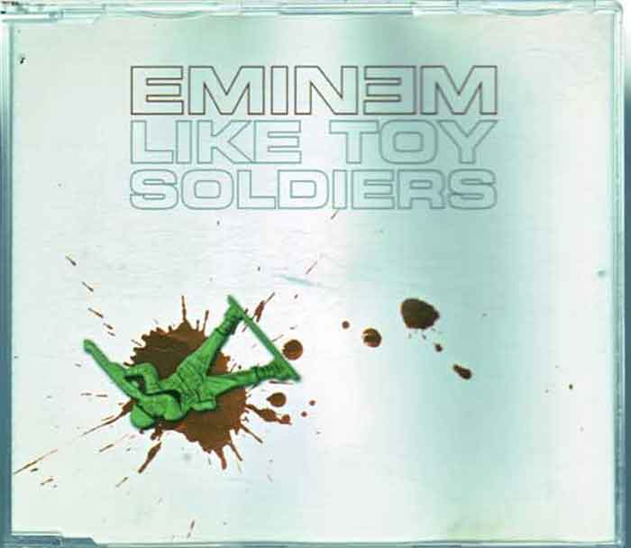 Eminem ‎– Like Toy Soldiers - Musik auf CD, Maxi-Single