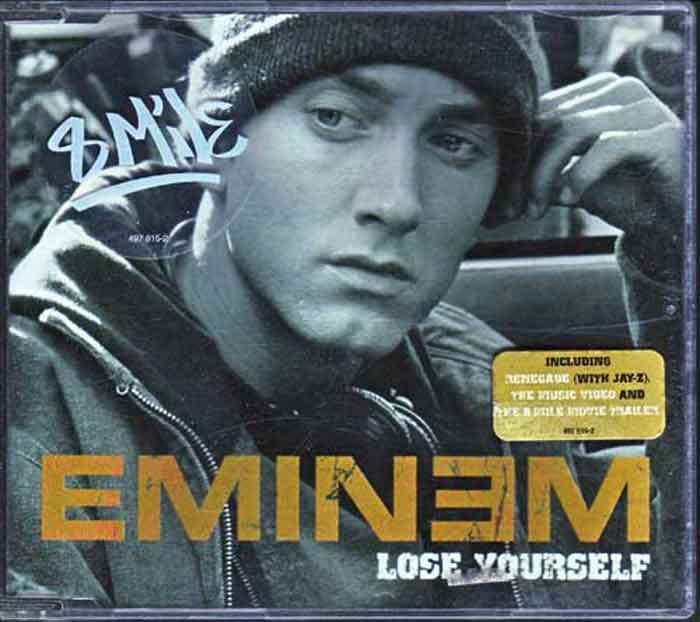 Eminem ‎– Lose Yourself - Musik auf CD, Maxi-Single