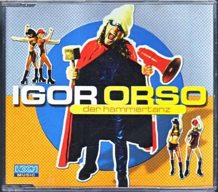 Igor Orso - Der Hammertanz - Musiktitel auf CD
