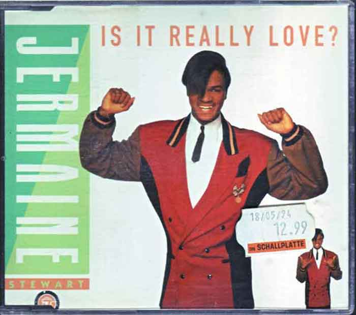 Jermaine Stewart ‎– Is It Really Love? - Musik auf CD, Maxi-Single