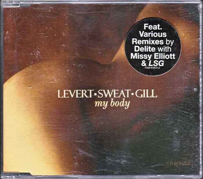 Levert Sweat Gill - My Body - Musik auf CD, Maxi-Single