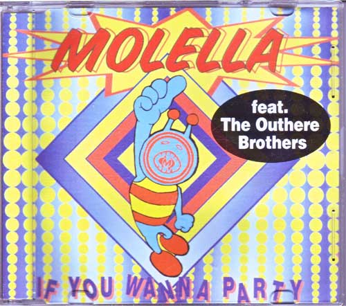 Molella - If You Wanna Party - Maxi-CD