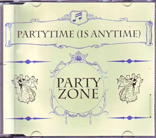 Partyzone - Partytime is Anytime - Maxi-CD