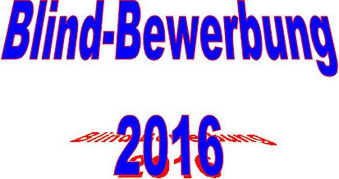 Initiativ-Bewerbung Banner, Bild