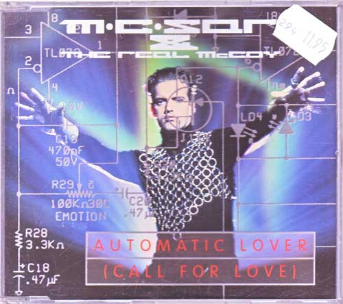 M.C. Sar & The Real McCoy - Automatic Lover - EAN: 743211848725
