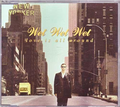 Wet Wet Wet - Love Is All Around - gebrauchte Maxi-CDs