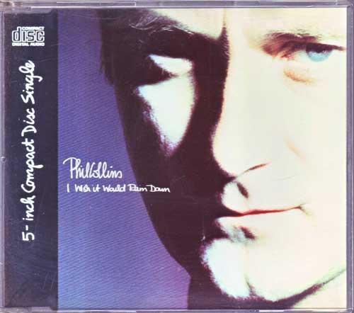 Maxi-CD - Phil Collins - I Wish It Would Rain Down