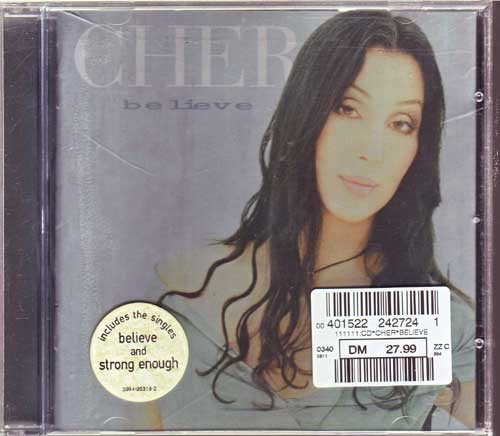 Cher - Believe - Studio-Album - EAN: 639842531924