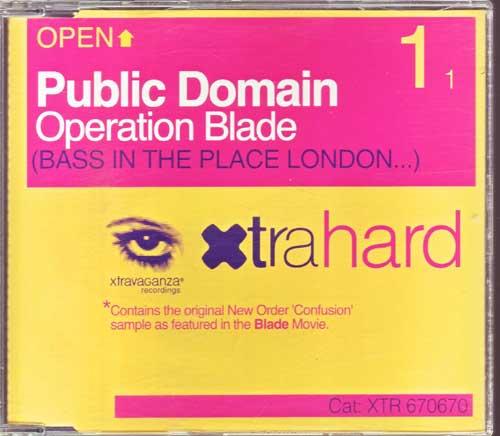 Public Domain - Operation Blade - EAN: 5099767067024