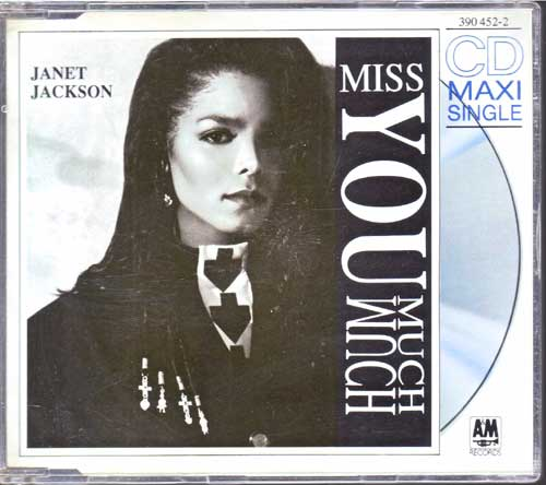 Janet Jackson - Miss you Much - EAN: 082839045223
