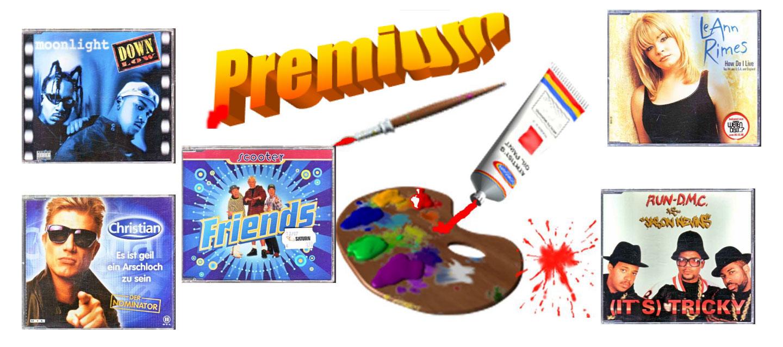 Premium Musik auf Maxi CDs zum Tausch gegen ein Ikea Regal