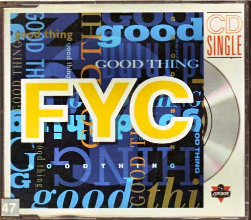 Fine Young Cannibals - FYC - Good Thing - EAN: 042288655831