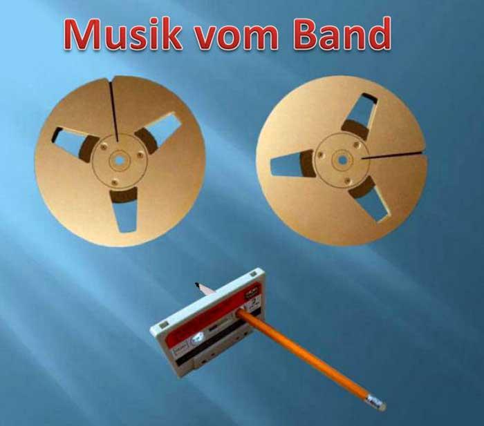 Internationale Stars - Tonband-Spulen Stars und Sternchen