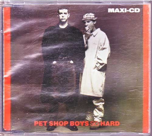 Pet Shop Boys - So Hard, Dance Mix - EAN: 5099920406226
