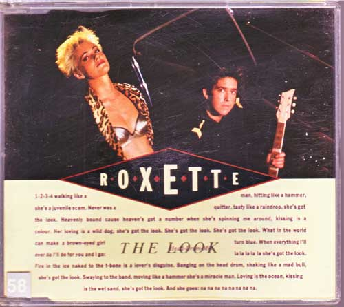 Roxette - The Look, Head Drum Mix - EAN: 5099913633325