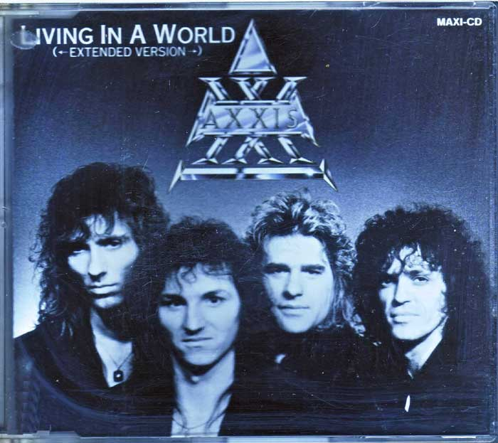 Axxis Living in a World auf CD