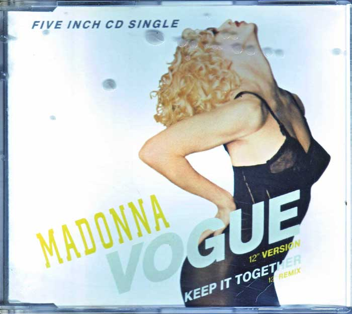 Madonna Vogue auf CD Top 100