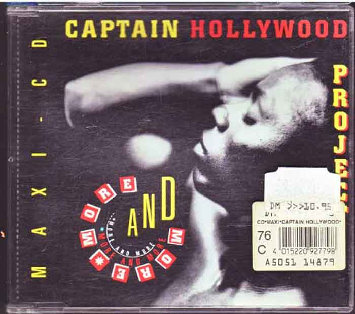 Captain Hollywood Project ‎– More And More - Musik auf CD, Maxi-Single