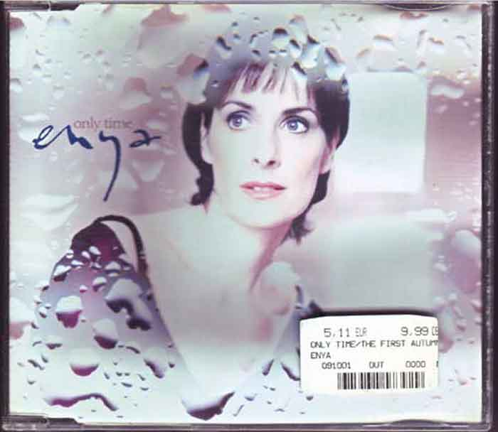 Enya ‎– Only Time - Musik auf CD, Maxi-Single