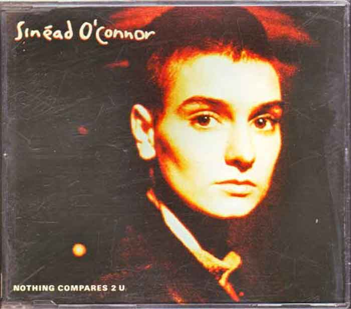 Sinead O'Connor ‎– Nothing Compares 2 U - Musik auf CD, Maxi-Single