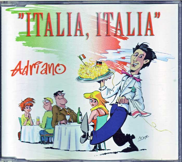 Adriano - Italia, Italia auf Maxi-CD