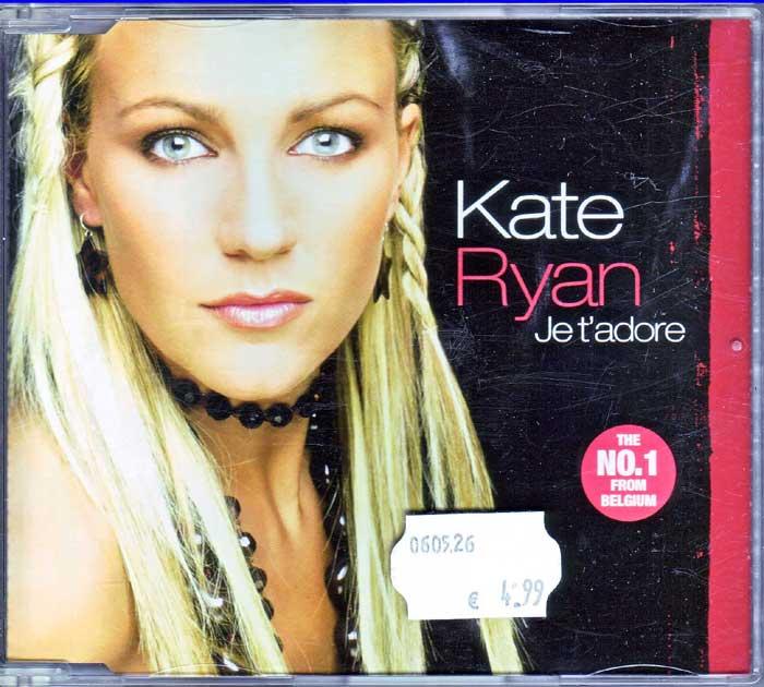 Kate Ryan - Je t'adore auf Maxi-CD, Fanartikel