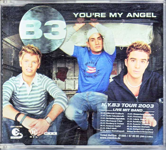 B3 - Your're My Angel auf CD