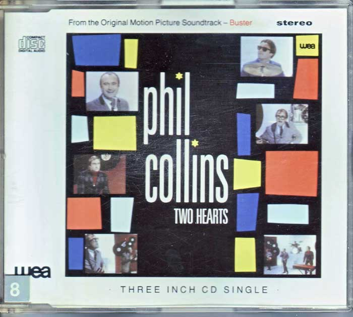 Phil Collins - Two Hearts auf CD