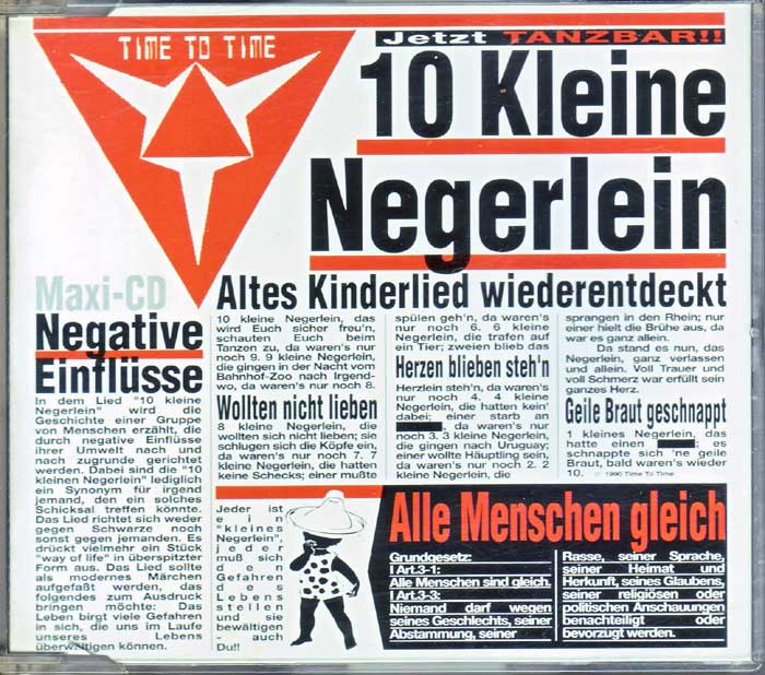 Time To Time - 10 kleine Negerlein auf CD