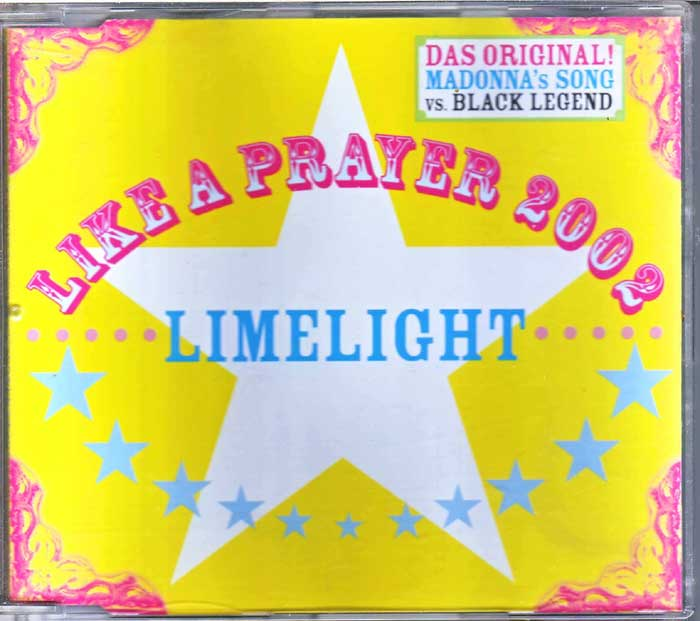 Limelight - Like A Prayer 2002 auf CD - Dance
