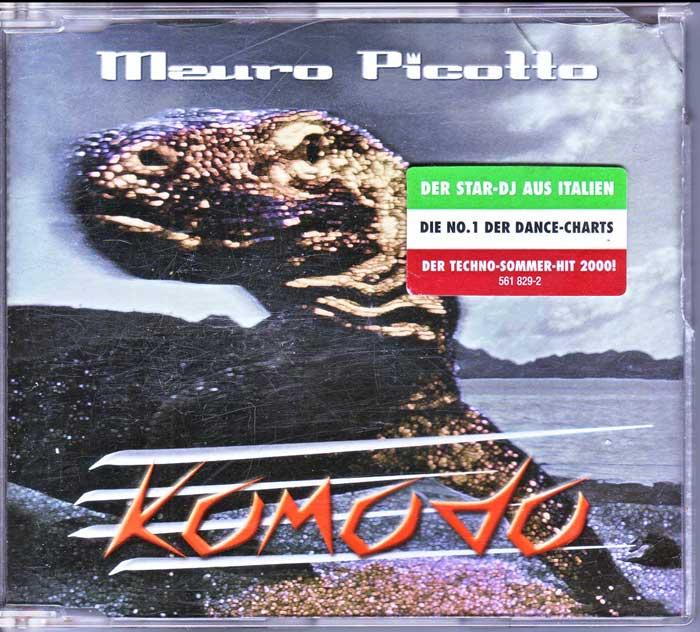 Mauro Picotto - Komodo auf CD