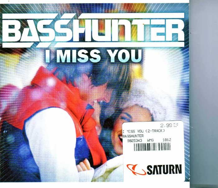 Basshunter - I Miss You auf CD