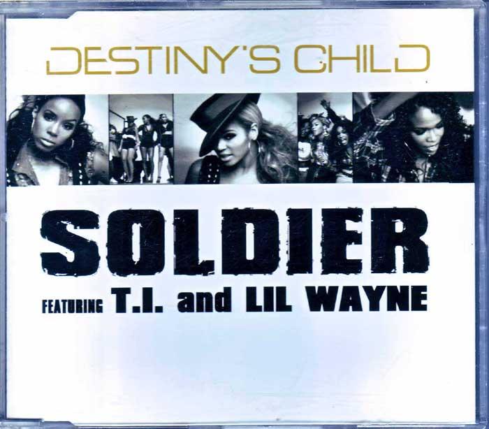 Destiny's Child - Soldier auf CD