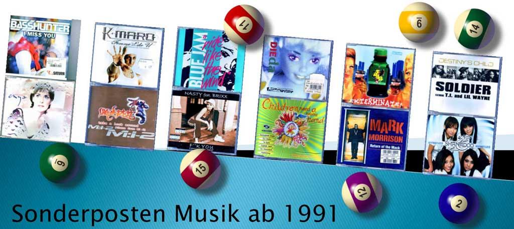 Sonderposten Musik Banner