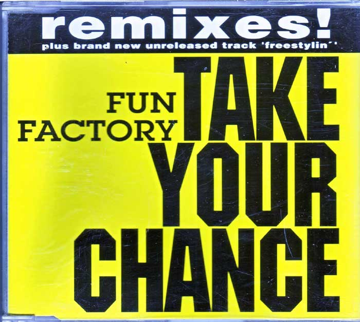 Fun Factory ‎– Take Your Chance auf CD