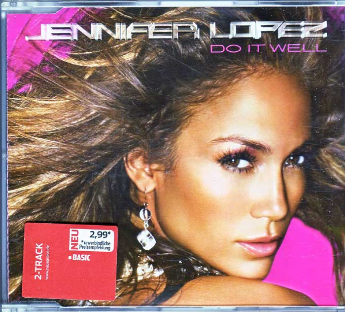 Jennifer Lopez ‎– Do It Well auf CD