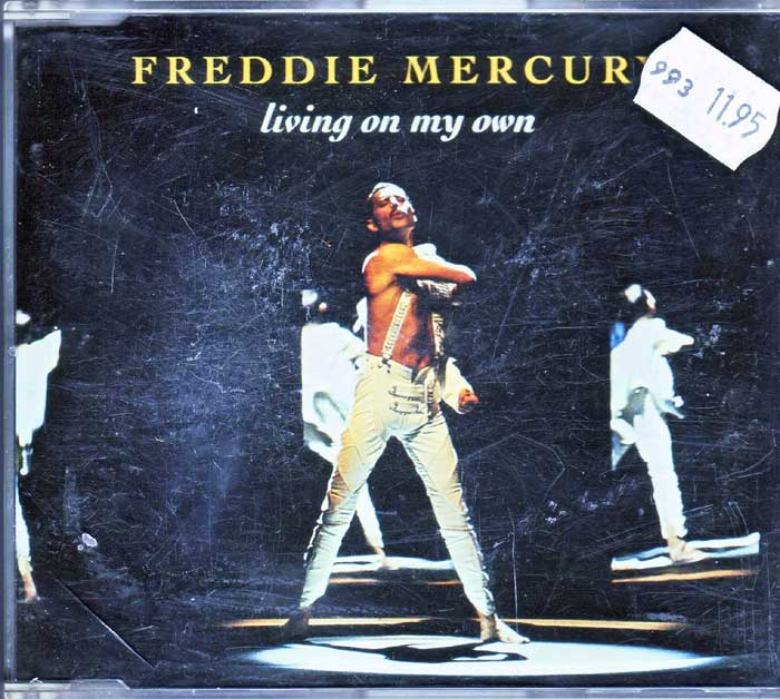 Freddie Mercury - Living On My Own auf CD