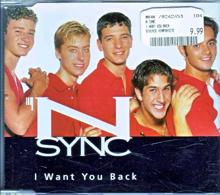 N Sync - I Want You Back auf CD