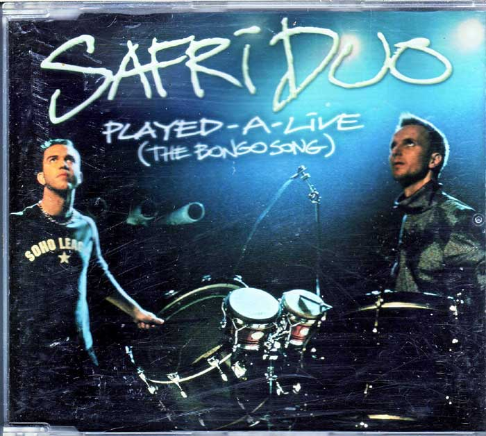 Safri Duo - Played-A-Live The Bongo Song auf CD