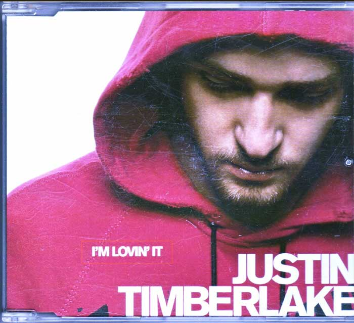 Justin Timberlake ‎– I'm Lovin It auf CD