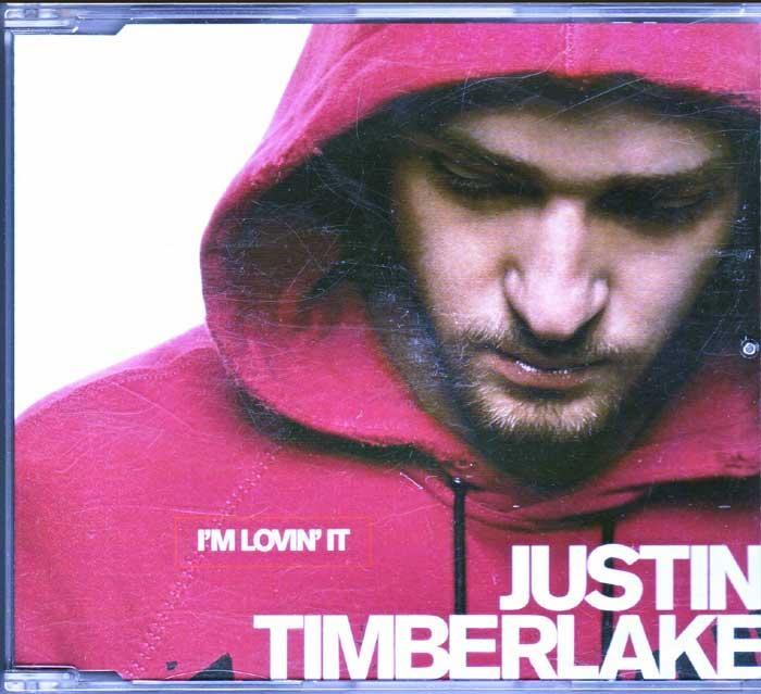 Justin Timberlake – I'm Lovin It auf CD