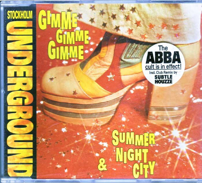 Stockholm Undergroud - Gimme Gimme Gimme auf CD
