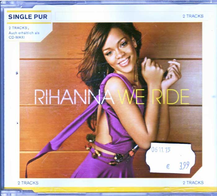 Rihanna - We Ride auf CD