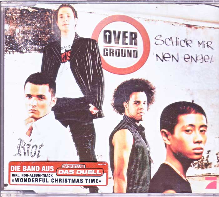 Overground - Schick Mir Nen Engel auf Musik-CD