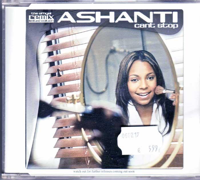 Chartbreaker Ashanti – Cant Stop, Maxi-CD