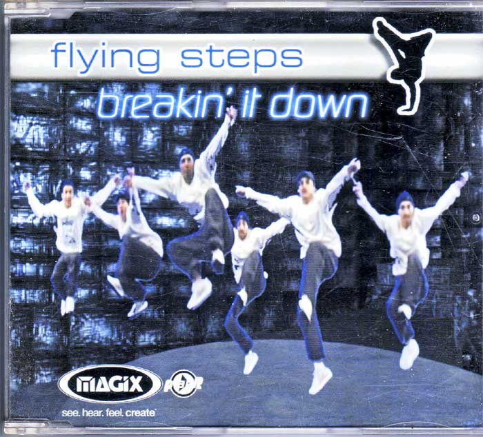 Flying Steps - Breakin' It Down auf Musik-Maxi-CD
