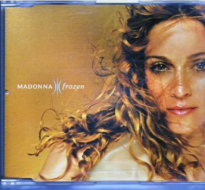Madonna - Frozen auf Musik-Maxi-CD