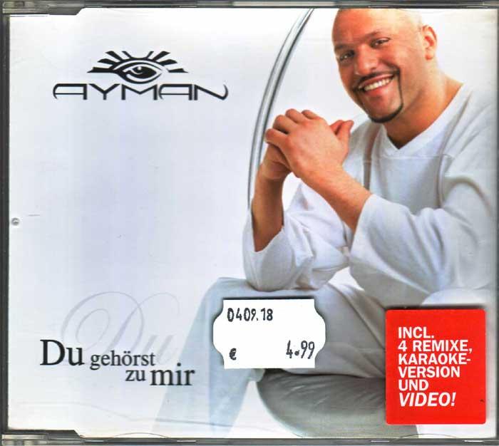 Ayman - Du Gehörst Zu Mir auf Musik-Maxi-CD