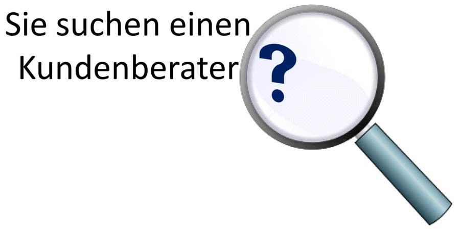 Kundenberater - Banner