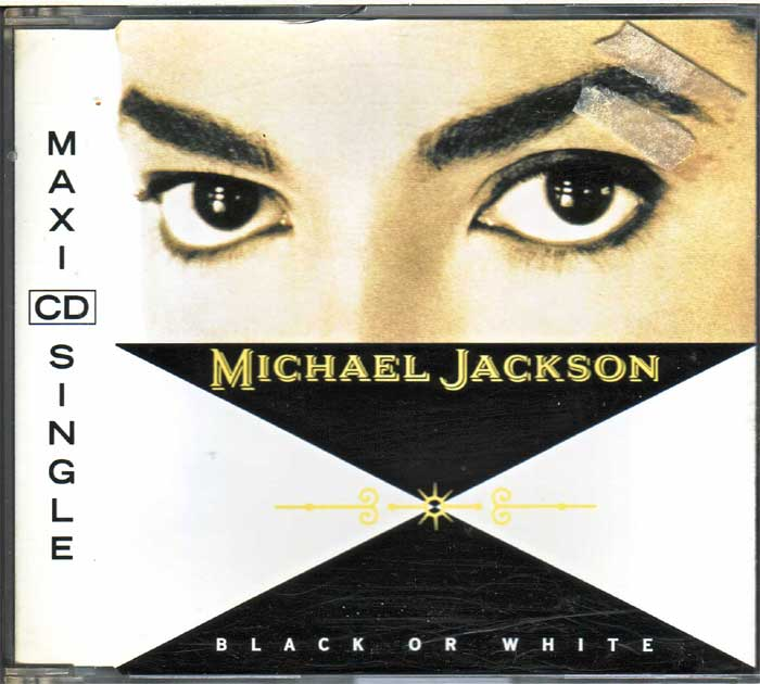 Michael Jackson - Black Or White auf Musik-Maxi-CD